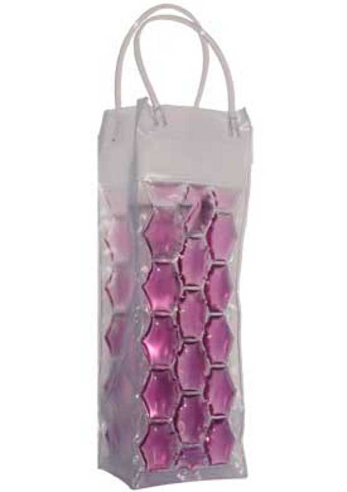 Chill It - Wine Bag Beer Bottle Cooler & Ice Chiller Freezable Carrier (Violet) Chill It Bags CHILL IT1V