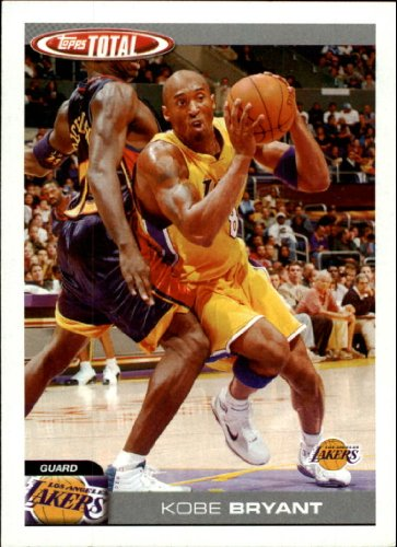 2004-05 Topps Total Basketball Cards #39 Kobe Bryant Los Angeles Lakers