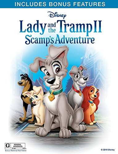- Lady and the Tramp II: Scamp's Adventure (Plus Bonus Content)
