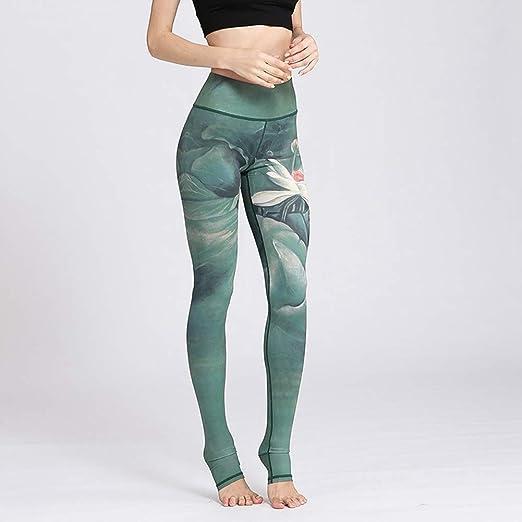 QIAO Pantalones de Yoga de Verano para Mujeres, Pantalones de ...