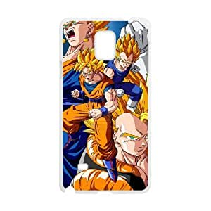 Samsung Galaxy Note 4 White Cell Phone Case Dragon Ball Z TGKG597842