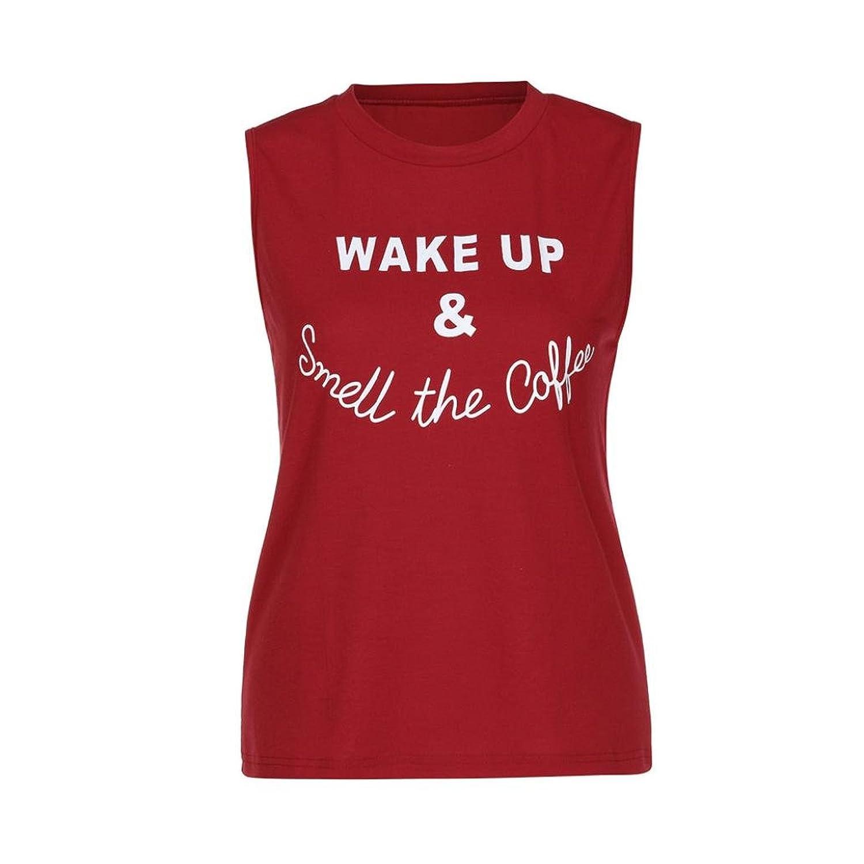 MRULIC Damen Red Shirt T-Shirt Kurzarm Sommer Notwendig ärmellos ...
