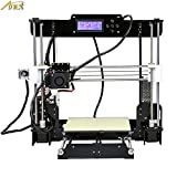 Anet Auto Leveling A8 3D Printer with Included Filament, 0.4mm Extrude Nozzle, Tools, Auto Level Sensor - Reprap i3 DIY 3D Printer Kit Self Levelling Sensor