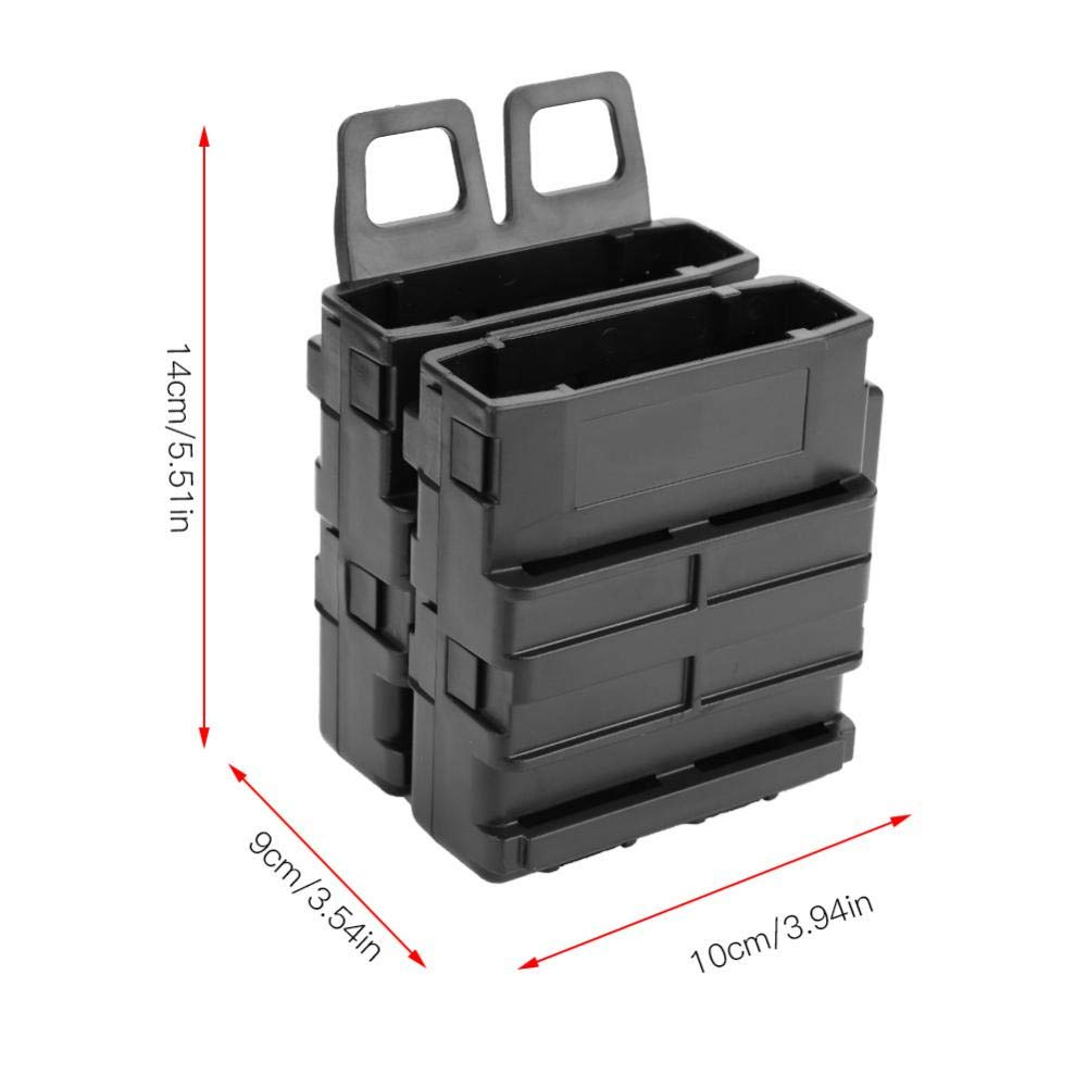 Box Holder Clip Charger Foam Ball f/ür Bag Mag Kunststoff Darts Loader Foam Zubeh/ör Shooting Game