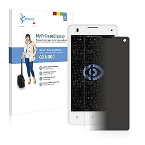 Vikuiti Protector Pantalla Privacidad GXN800 de 3M para Medion Life E4503 (MD 99232) Película Protección Anti-Espía Anti-Spy
