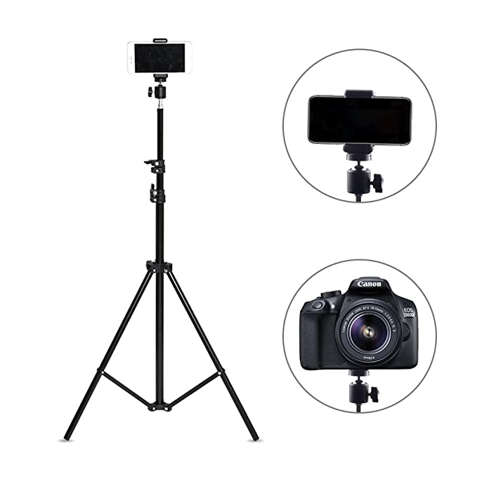 Supply Lightweight Portable Extendable Selfie Tripod With Phone Clip For Smartphone Sport Camera Live Video Live Tripods