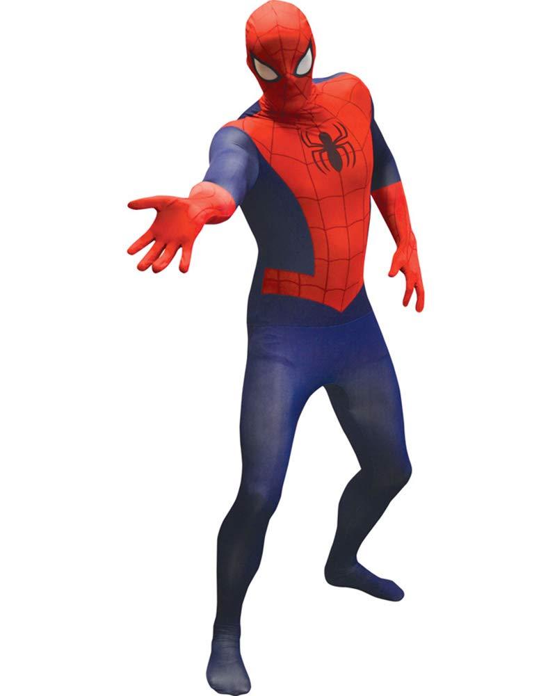 Disfraz segunda piel Spiderman adulto: Amazon.es: Juguetes y juegos