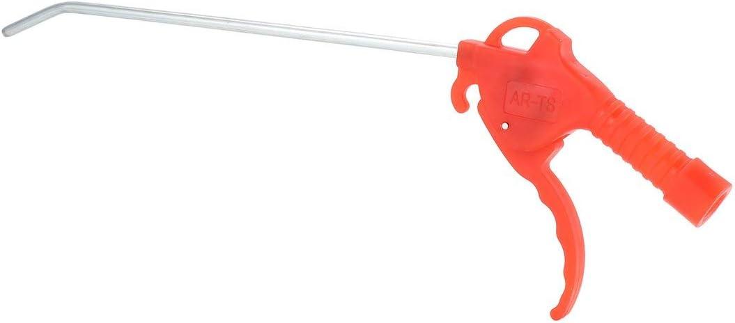 SeniorMar Plumero de compresor de Aire Largo multipropósito Pistola de soplado de Aire de plástico Herramienta práctica de Limpieza del Plumero de Aire