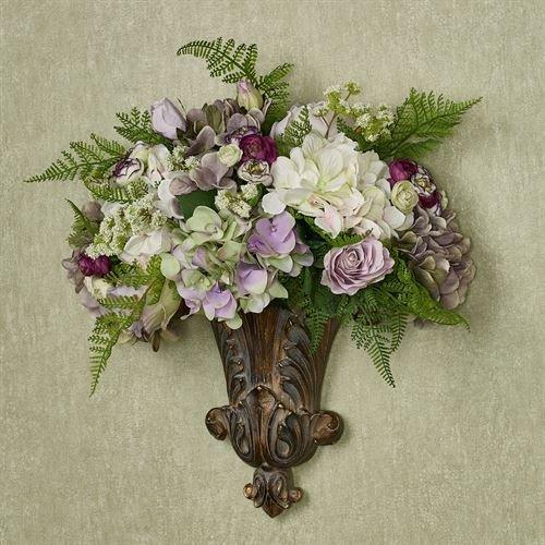 Grace Medley - Creative Displays & Designs In Grace Floral Medley Wall Pocket Purple