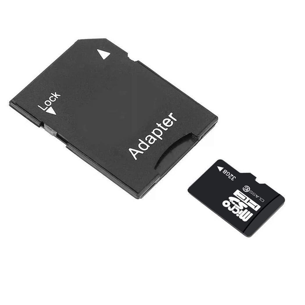 YENJOS Tarjeta TF 32G (Micro-SD), Tarjeta Micro SD de Alta Velocidad con Memoria de Tarjeta SD, Clase Micro-SD 32G con Adaptador de teléfono móvil Micro SD