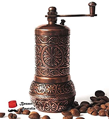 Turkish Handmade Grinder, Spice Grinder, Salt Grinder, Pepper Mill 4.2''