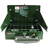 Cheap Coleman 2 Burner Dual Fuel Compact Liquid Fuel Stove