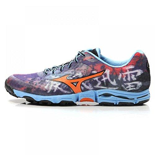 Mizuno AW14 Womens Wave Hayate Trail Running Shoes – US 7 – Purple/Orange Review
