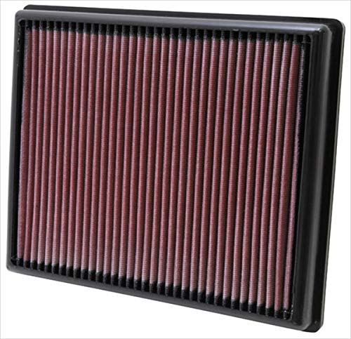 K&N engine air filter, washable and reusable:  2012-2019 BMW L3/L6 (M2, i8, 335i, 435i, M135, M235, 435i) ()