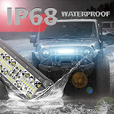 LED Light Bar SWATOW 4x4 10 Inch 150W OSRAM LED Work Light Off Road Driving Light  Waterproof Spot Flood Combo LED Lights for Truck Jeep Boat ATV UTV: Automotive