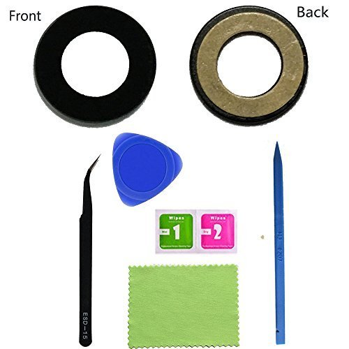 1 Eaglestar True Glass For Google Pixel 2 XL (6.0) Rear Camera Glass Lens Replacement W/Pre-installed Glue Tape+DIY Tools