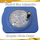Cut 8 Fixed Size Adjustable Rotary Circle Graphic