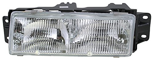 Headlight Headlamp Driver Side Left LH for 87-96 Olds Cutlass Ciera ()