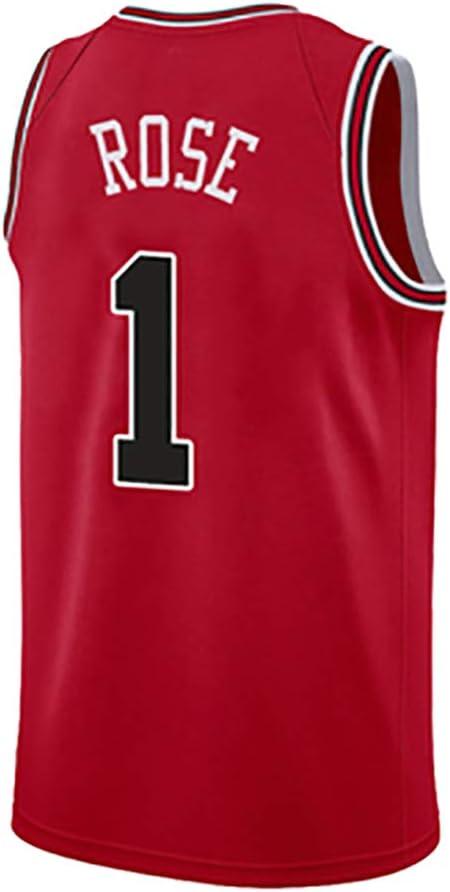 SHPP Jersey Derrick Rose No. 1, Bulls # 1, Camiseta sin Mangas de ...