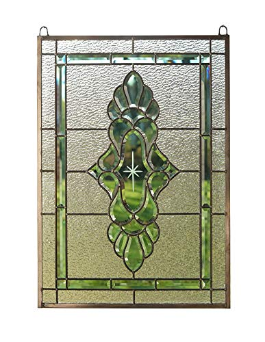 - Tiffany Style Stained Glass Beveled Window Panel 19