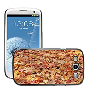 Hot Style Cell Phone PC Hard Case Cover // M00150853 Leaves Autumn Fall Nature Color // Samsung Galaxy S3 S III SIII i9300