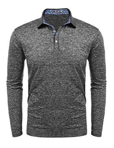 eeve Polo Shirt Casual Golf T Shirt ()