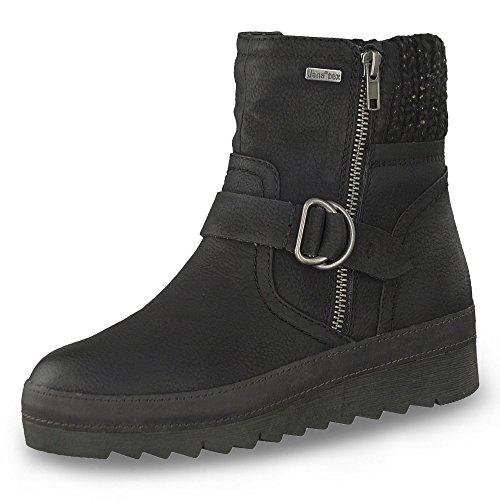 Tex Warmfutter Gr Stiefelette Jana H Boots Damen Weite Black 42 qwTxfRC6S