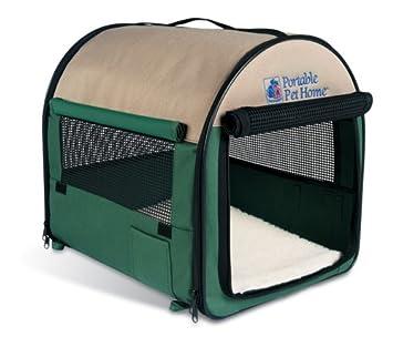 Petmate Portable Pet Home Large Khaki Hunter Green