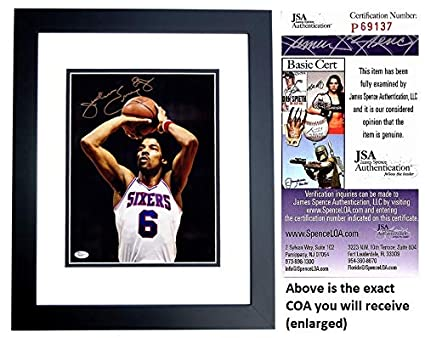 fe2b021dd Julius Erving Signed - Autographed Philadelphia 76ers 11x14 inch Photo with  Dr. J Inscription -