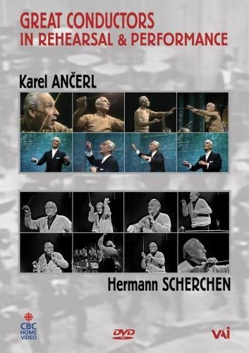 Price comparison product image Great Conductors in Rehearsal & Performance: Karel Ancerl & Hermann Scherchen