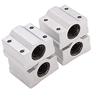 3D Printer Slider Sliding Block Bearing SCS8UU Linear Motion Ball 4pcs from Eewolf