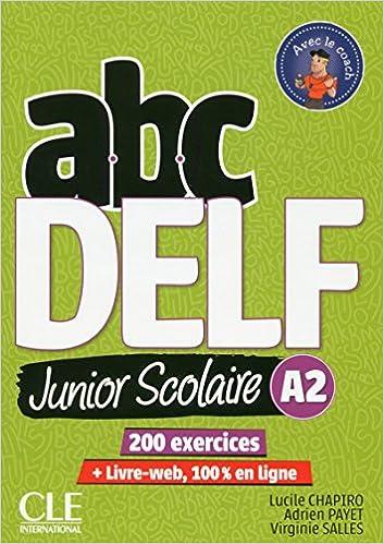 Abc Delf Junior Livre De L Eleve A2 Dvd Livre Web