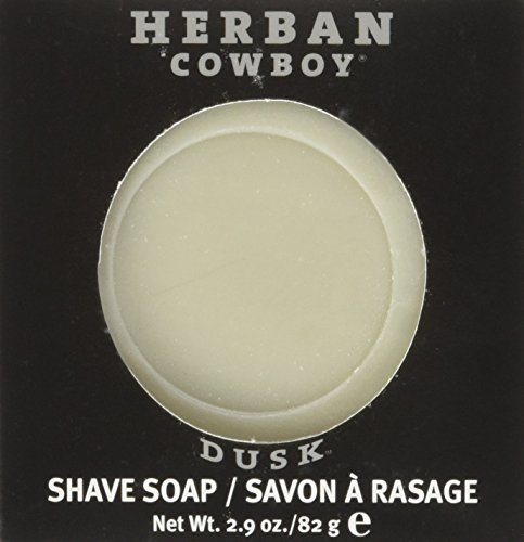 Herban Cowboy Organic Soap (Dusk Shave Soap, 2.9 Ounce)