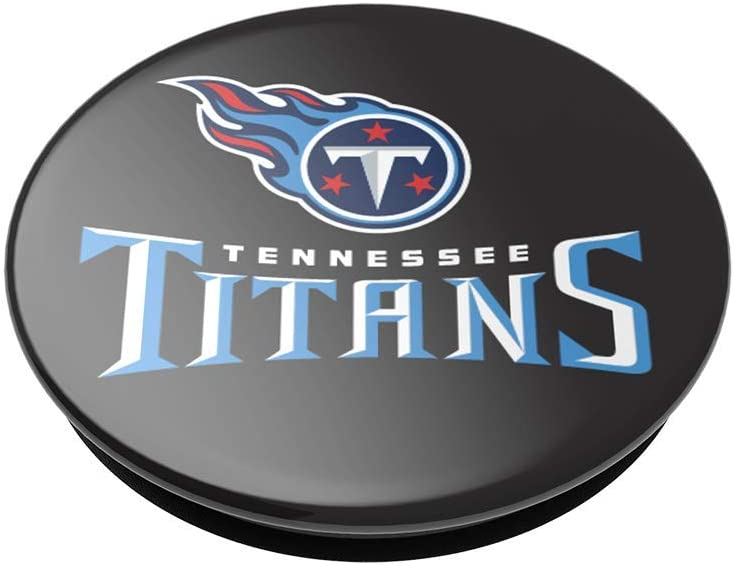 NFL PopGrip with Swappable Top for Phones /& Tablets PopSockets Tennessee Titans Logo