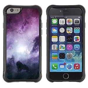 Suave TPU GEL Carcasa Funda Silicona Blando Estuche Caso de protección (para) Apple Iphone 6 / CECELL Phone case / / Space Planet Galaxy Stars 62 /