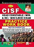 Kiran's CISF Head Constable/ Min. & HC/ MIN (LDCE) Exam Practice Work Book- English