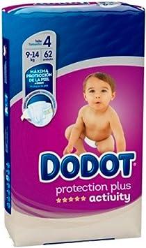 Pañales Dodot Activity T4, 62 unidades, 8-14K: Amazon.es: Salud y cuidado personal