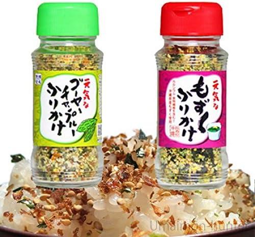 沖縄ふりかけ2種 もずく ゴーヤーチャンプルー×5セット オキハム 沖縄の特産品や名物の味を手軽に味わえるふりかけセット お土産にも最適