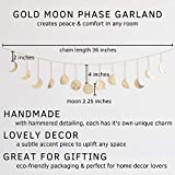 Moon Decor Wall Decorations | Handmade Hammered