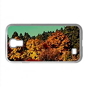 Park Fall Watercolor style Cover Samsung Galaxy S4 I9500 Case (Autumn Watercolor style Cover Samsung Galaxy S4 I9500 Case)