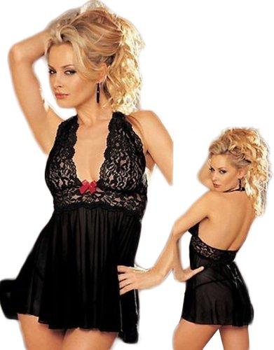 ANDI ROSE Sexy Lingerie Babydoll Women Corset with G-string Underwear Sleepwear Set