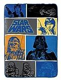 """Best Blanket Star Wars Blankets - Star Wars Classic Fleece 62"""" x 90"""" Twin Review"""