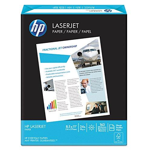 HP 112400 LaserJet Paper,24 lb,8-1/2