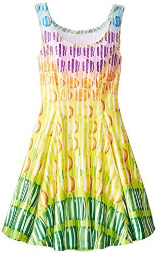 Zara Terez Big Girls' Candy Crush Falling Candies Skater Dress, Multi, Small