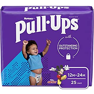 Pull-Ups Learning Designs Boys' Training Pants, 12-24M, 25 Ct