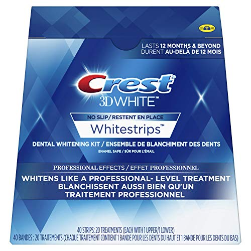 Crest 3d White Whitestrips Professional Effects Treatments,