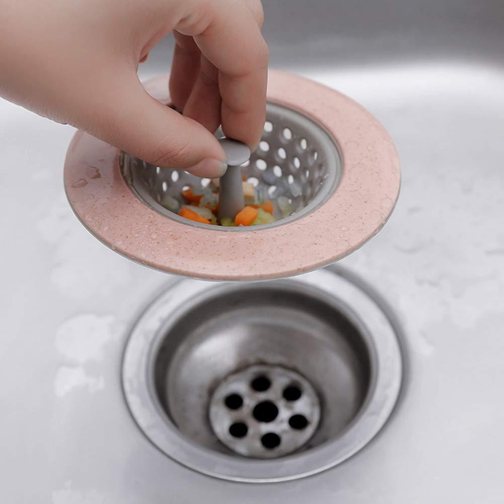MOMEY Spü lbecken Sieb Multifunktionale Ablauf Filter Waschbecken Bodenablauf Abdeckung Anti-Clogging