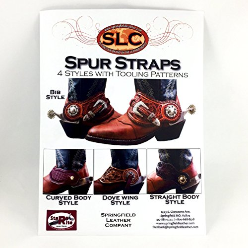 (Leather Sprur Straps Pattern/Instructions)