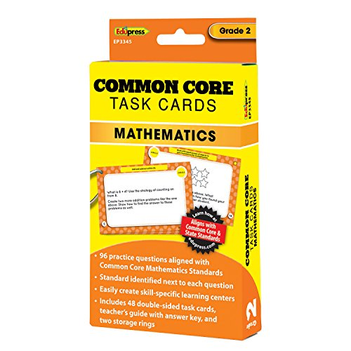 Edupress Common Core Task Cards  Math  Grade 2  Ep63345