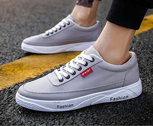 作物うそつきゲートウェイメンズ軽量スケートボードシューズ学生夏ニューカジュアル通気性靴韓国トレンドユースキャンバスシューズ通気性靴